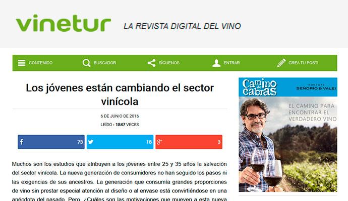 Vinetur: Los jóvenes están cambiando el sector vinícola