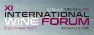 xi international wine forum logrono 21 y 22 de noviembre 2016